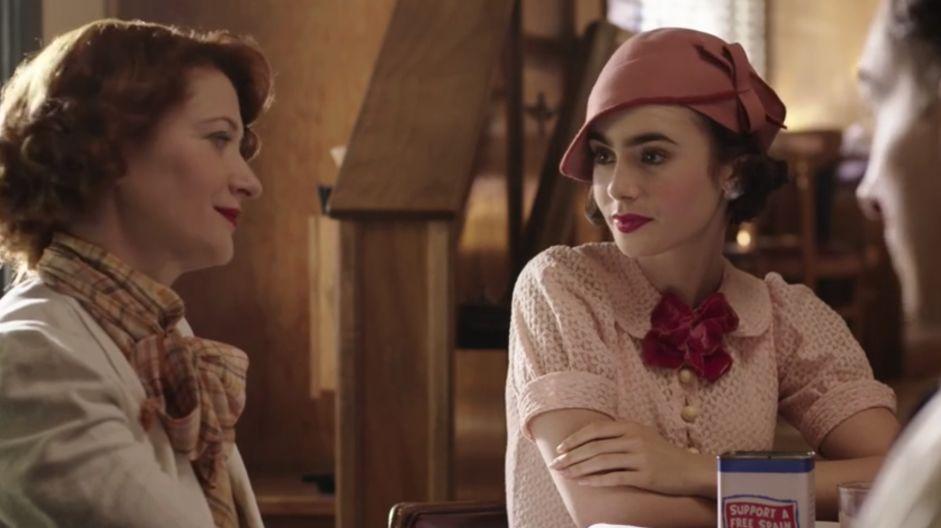 深扒美剧《最后的大亨》跟着Lily Collins探寻好莱坞时尚秘史