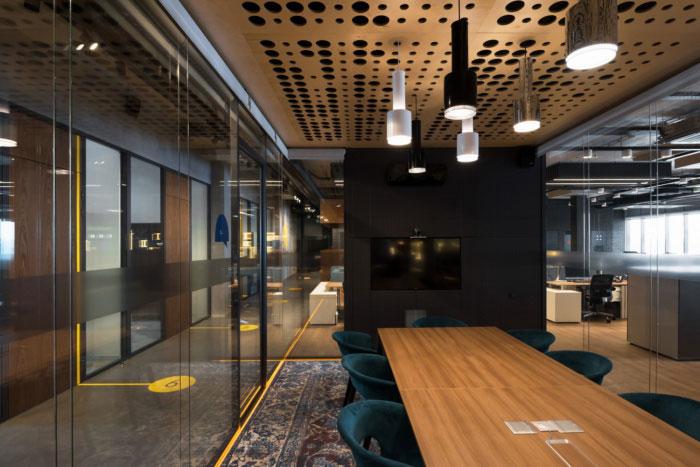 让你心仪的办公室装修设计效果图分享
