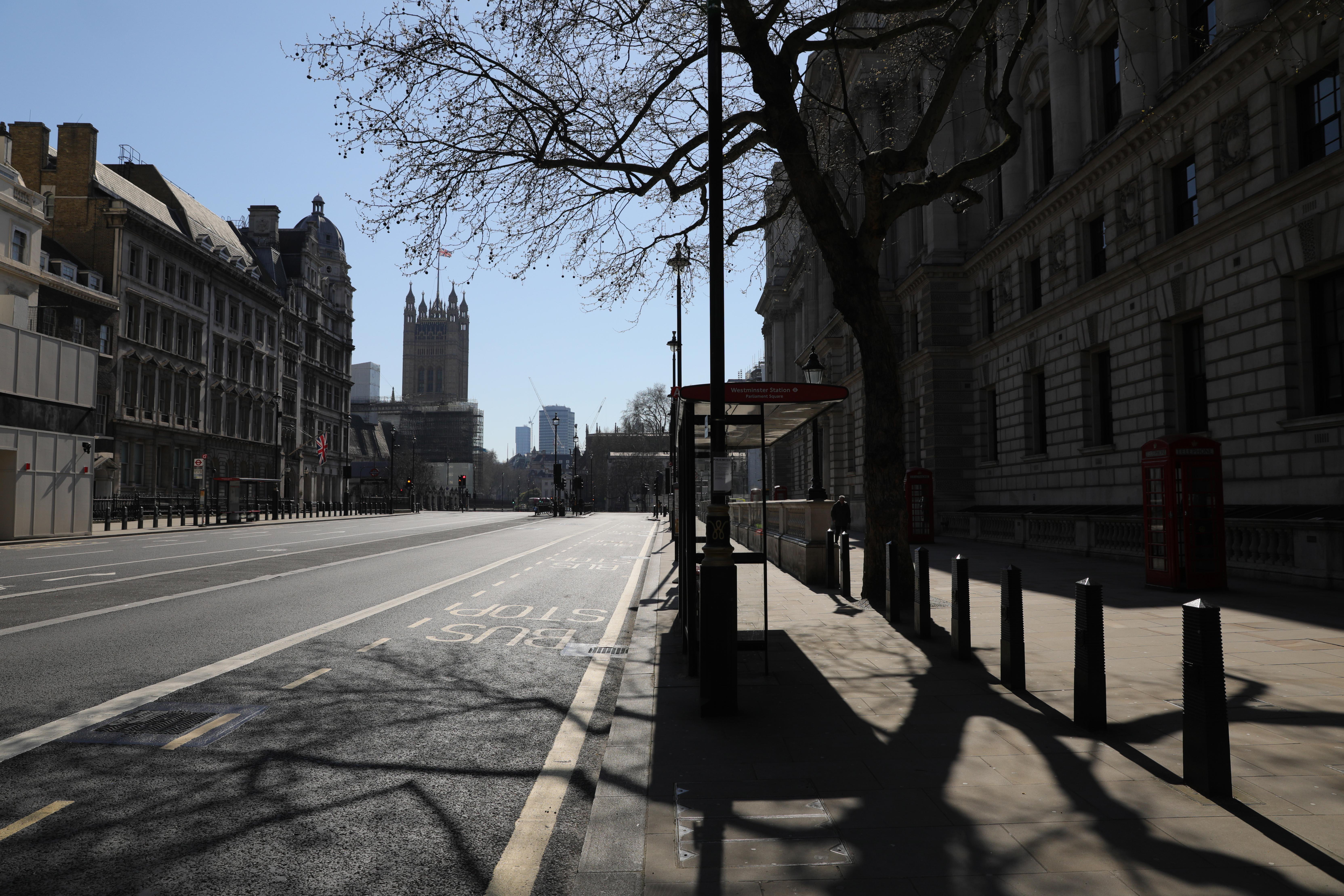 疫情影响下的英国城市