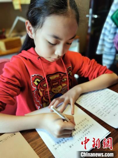"""南宁小学生写信邀台湾学生""""云""""上共度壮族传统节日""""三月三"""""""