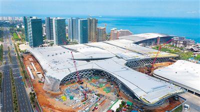 海南国际会展中心二期项目屋面板