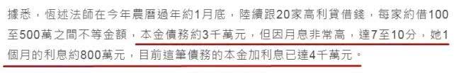"""「玛丽莲梦露」如今欠下巨额高利贷跑路?""""东方玛丽莲梦露""""当红时退圈出家"""