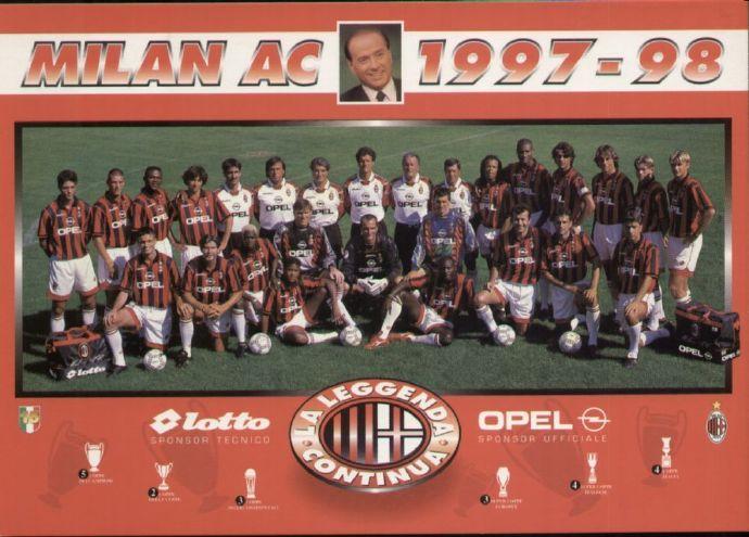 原创            「资料」AC米兰1997-1