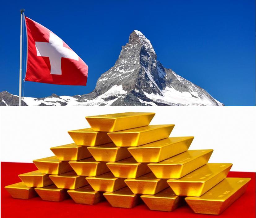瑞士出口中国的黄金雪崩式下降,西金东移过程受阻!