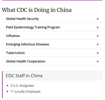 """路透再曝光:过去两年,美国疾控中心""""砍掉""""超过2/3在华人员!"""