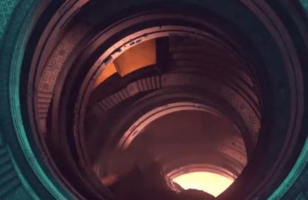 蔡徐坤3D大片 每帧画面都充满科幻艺术片的视觉格调