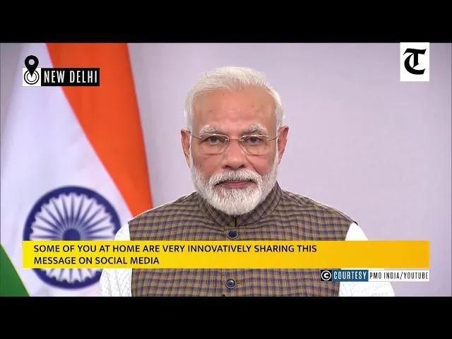 """印度宣布""""封国"""",13亿人被禁止出门!莫迪:辛苦21天,好过国家倒退21年"""