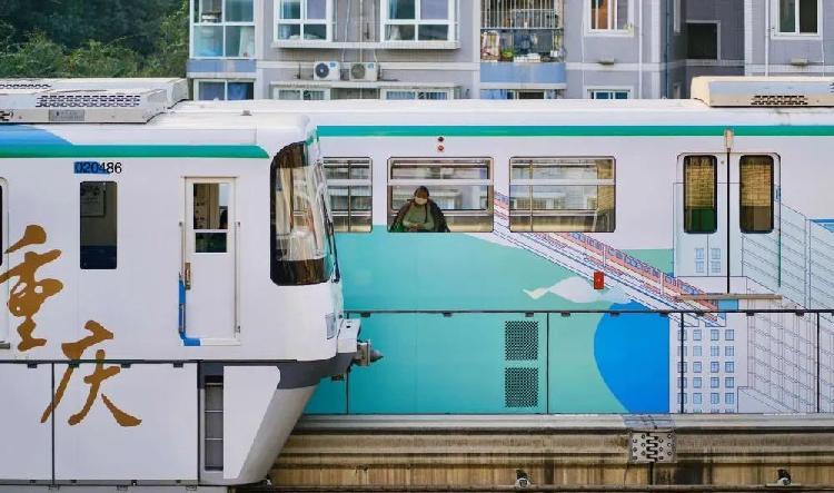 听说你家阳台能看到轨道列车飞驰?