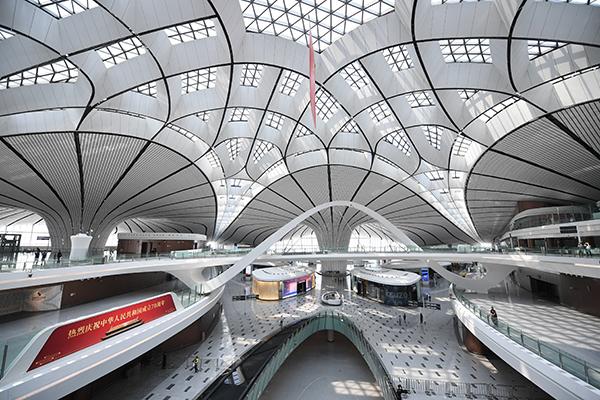 北京大兴机场迎3家航企入驻,多家公司29日起将转场大兴图片