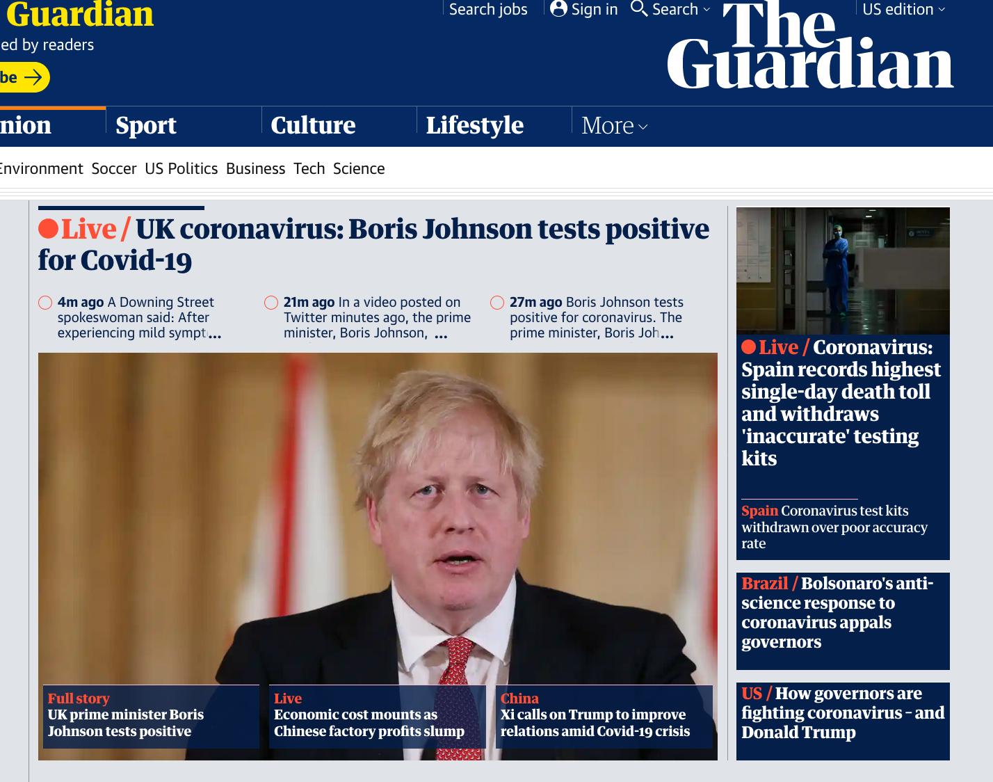 首相和卫生大臣都阳性,英媒反应:鲍里斯上次见女王是在3月18日…