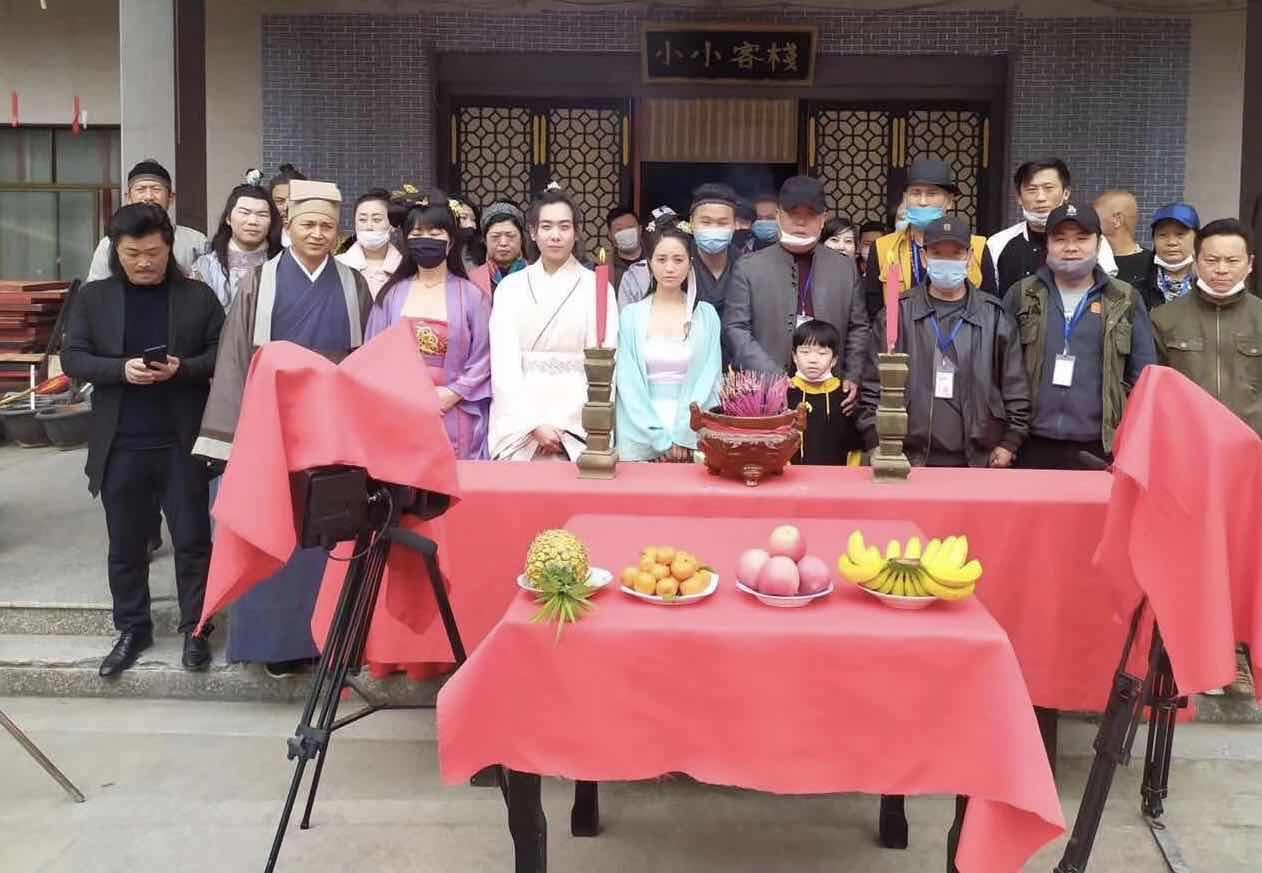 古装武侠电影《文刀》在浙江杭州开机拍摄