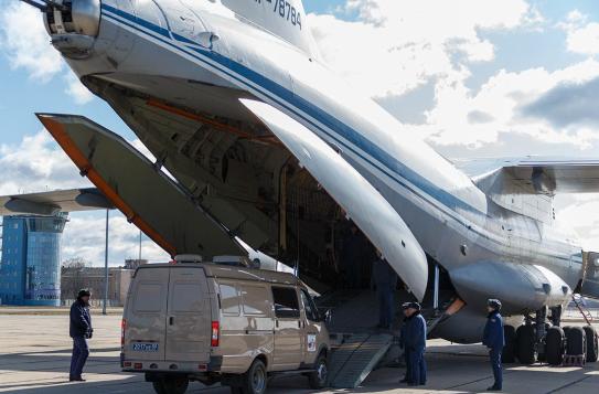 俄罗斯15架运输机驰援意大利,却遭意媒体质疑:要搞生化演练?_中欧新闻_欧洲中文网