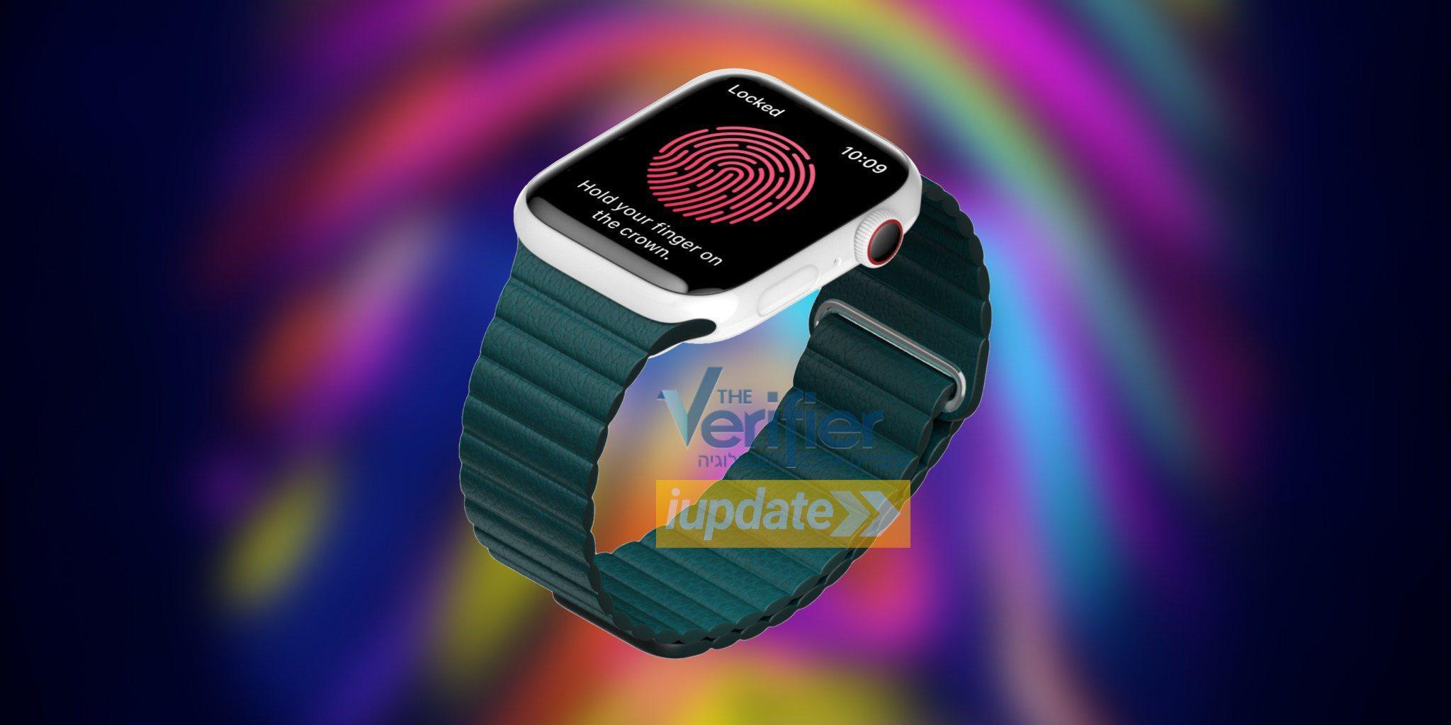 传苹果正考虑为Apple Watch加入指纹传感器