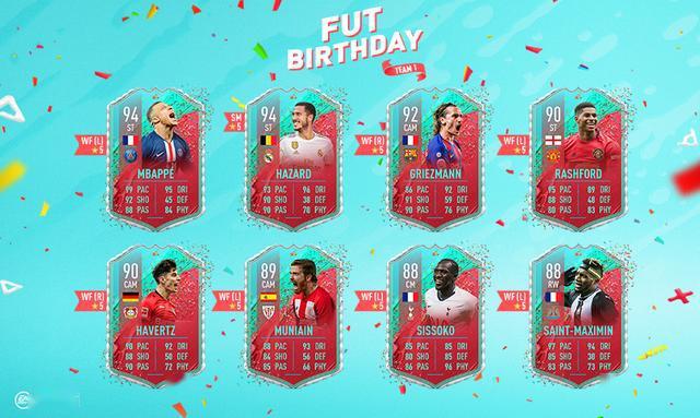 "《FIFA 20》""终极球队""周年纪念活动上线 强氪一波?"