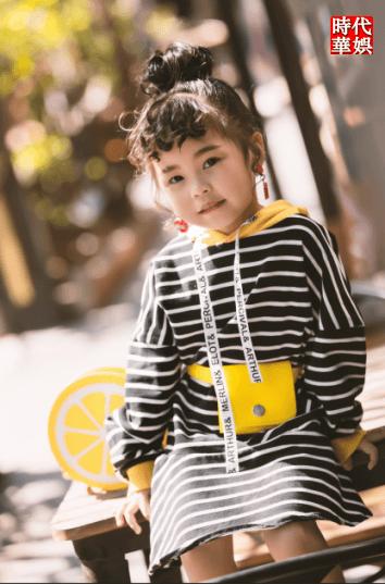 时代华娱Baby Face时尚平面童模档案库――徐若涵