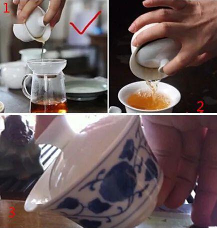 盖碗泡茶方法
