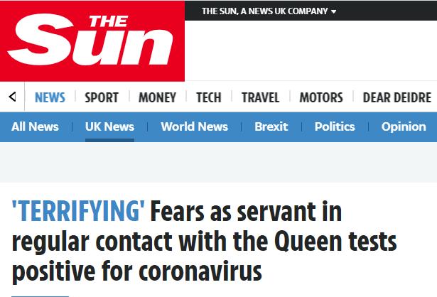 外媒:英国女王的一名侍从新冠病毒检测呈阳性