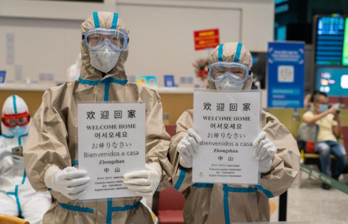 转运全程免费,核酸检测免费!广州白云机场至中山转运攻略发布