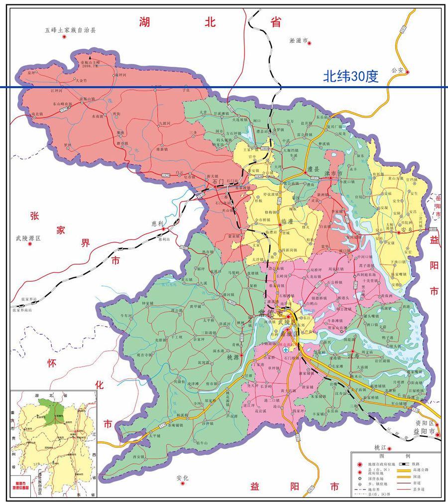 常德市桃源县经济总量2021_湖南常德市桃源县地图