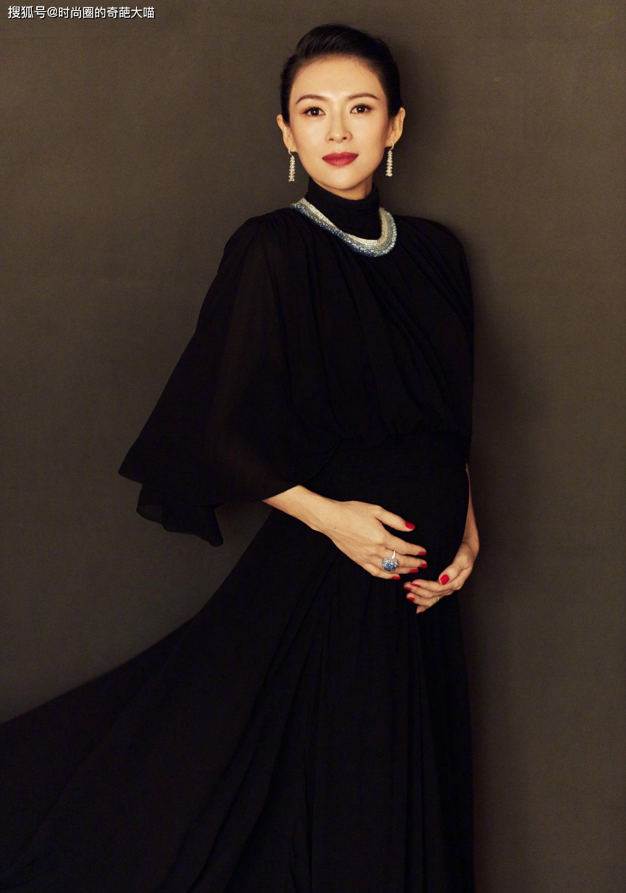 原创孕期照样美美的!章子怡唐艺昕怀孕也精致,打破不能化妆的说法