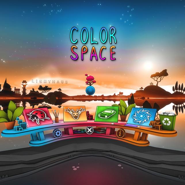《ColorSpace》带你找回童年涂色的快落