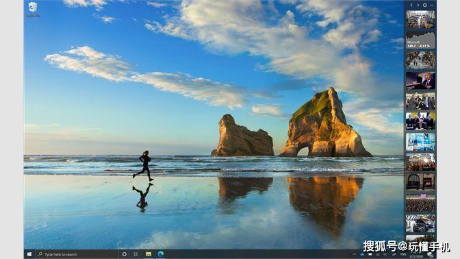 微软News Bar应用:可以自己在桌面上弹新闻了