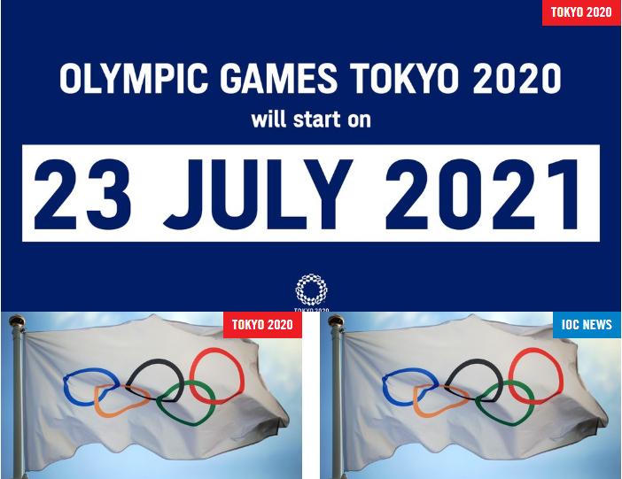 国际奥委会官方宣布:东京奥运会2021年7月23日举办