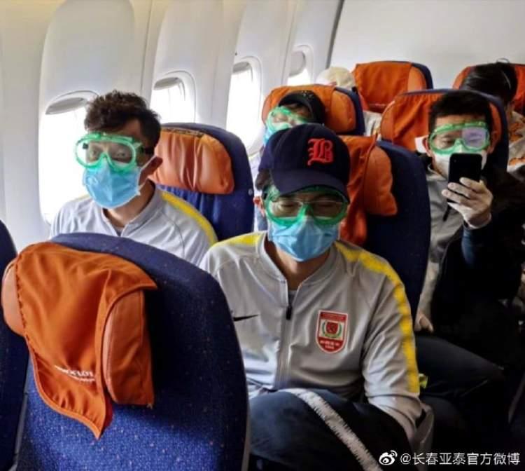 亚泰分开隔离部分留在天津 其他人经北京返回长春