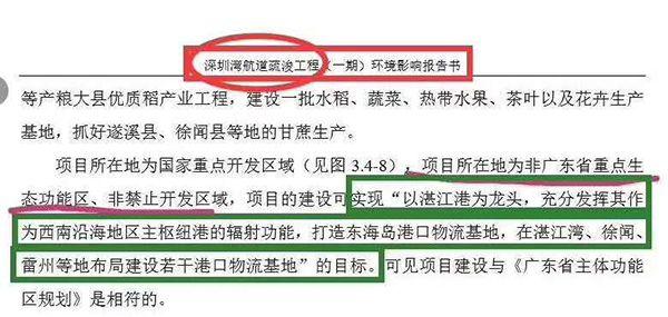 """把深圳写成湛江:环评抄袭暴露了""""纸糊的关卡"""""""