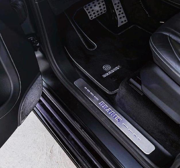 700马力的超级大G,车头B字车标不简单,全球仅限量十台