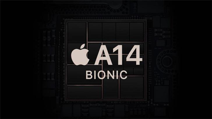 """消息称台积电批量生产苹果A14芯片的工作已""""步入正轨"""""""