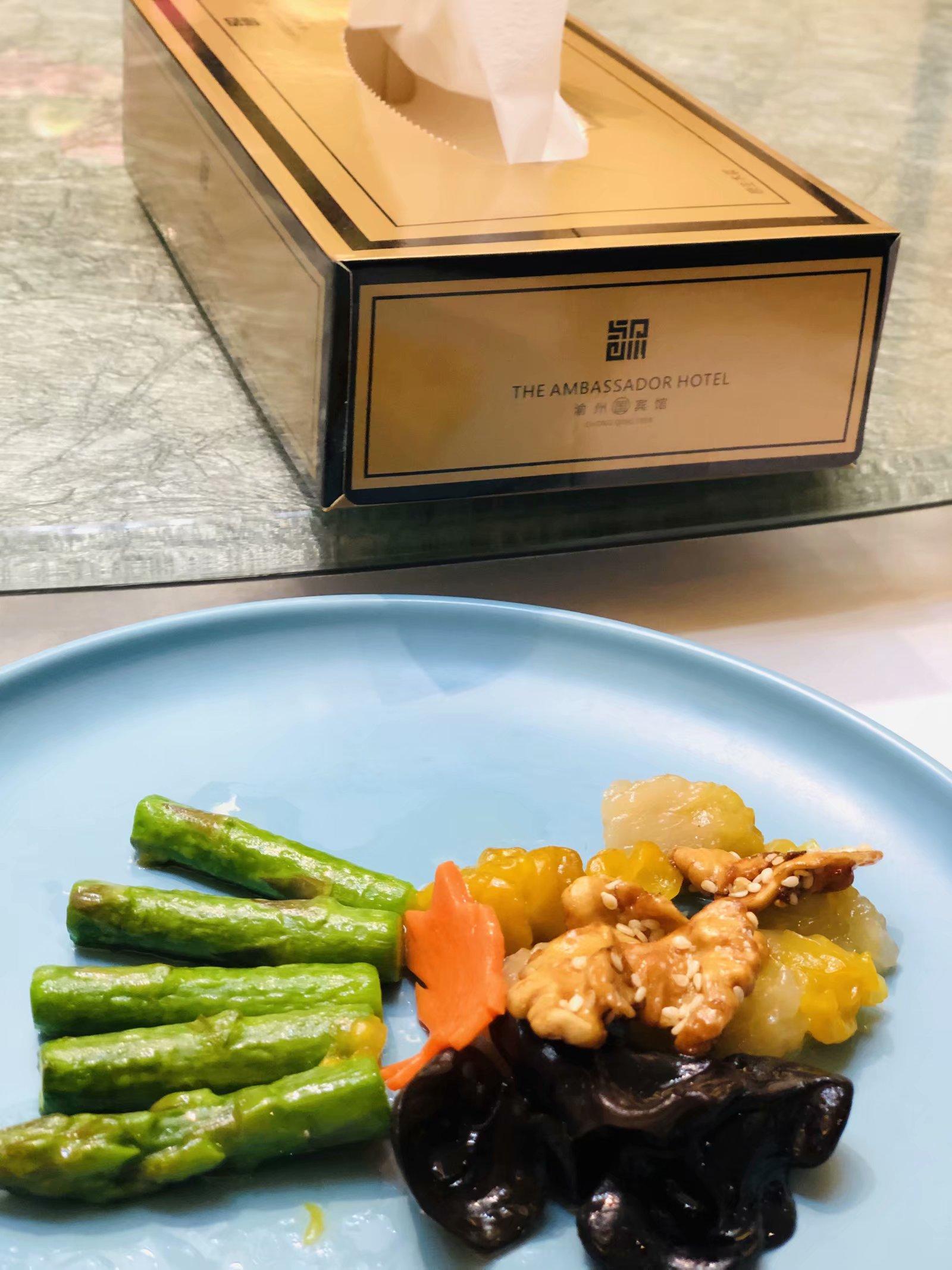 带你体验国宾馆的分餐制,绝对高大上