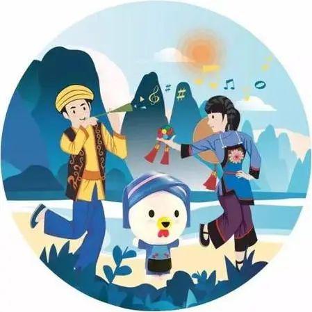 壮族三月三 八桂嘉年华|解放路小学绘画,手工,美食荟萃