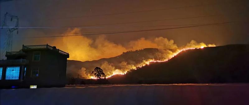 高分卫星紧急驰援四川凉山森林火灾