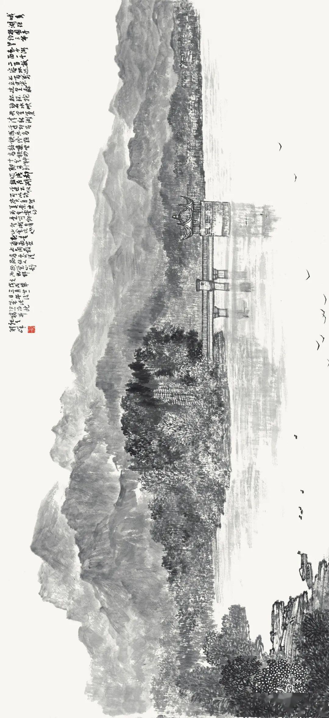 水韵墨律峨眉山—程峰写生画集隆重出版(作品赏析一)