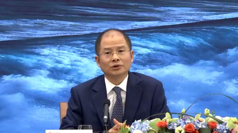 原创             徐直军:2020年将会是华为最艰难的一年