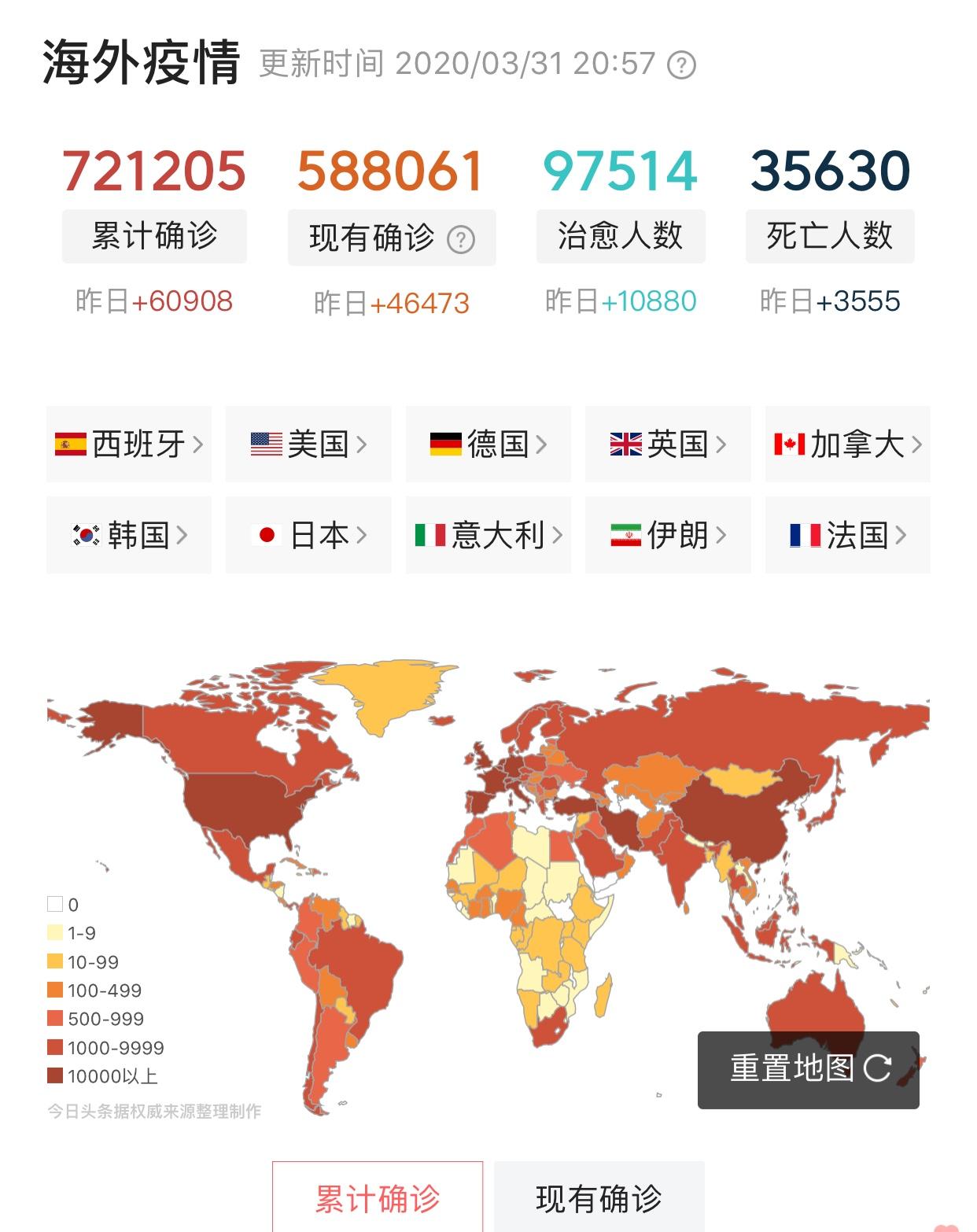 美国确诊突破16万,意大利紧随其后破10万,东京奥运会也无奈推迟_中欧新闻_欧洲中文网