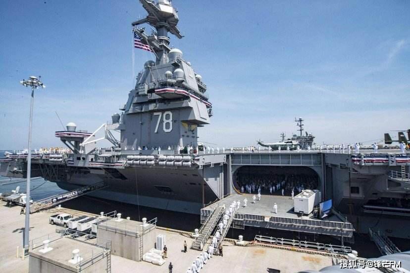 福特号航母下水管太细,解决竟需耗资40亿美金,相当于20架F22战斗机!
