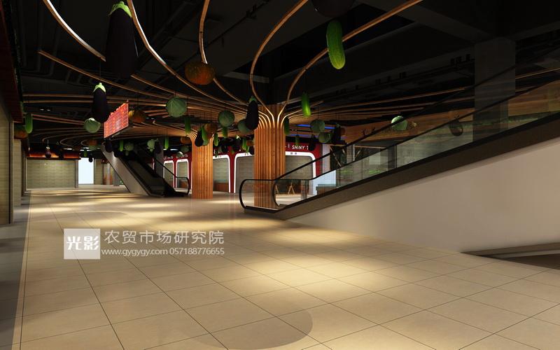南昌农贸市场设计—南昌农贸市场装修设计—南昌农贸市场设计图图片