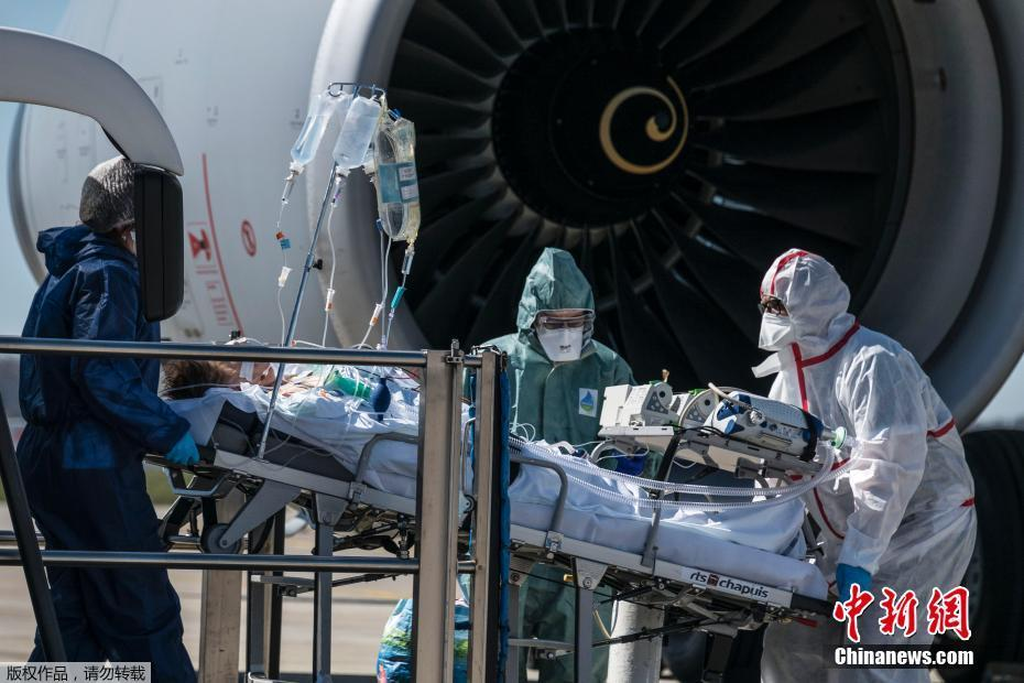 为缓解医疗压力 法国派军机转运新冠肺炎患者_中欧新闻_欧洲中文网