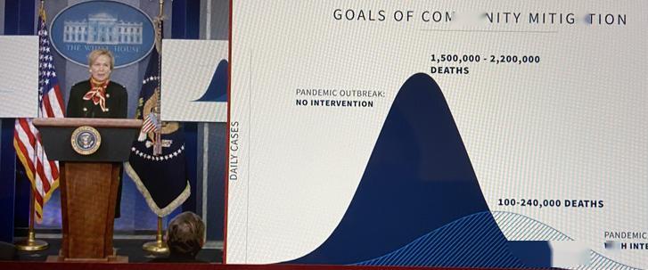 美国死亡病例或达10万至24万!特朗普:这不是流感