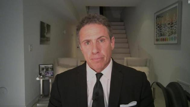CNN主持人克里斯-科莫确诊 隔离在家里的地下室