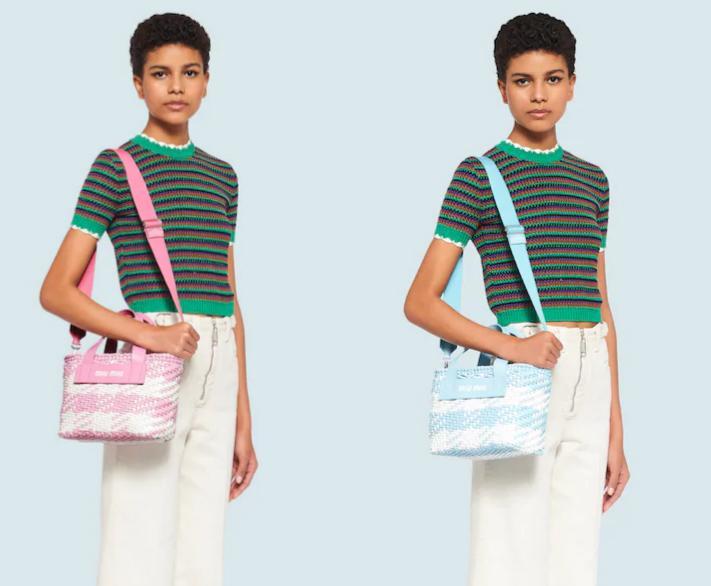 原创             Chanel的香芋紫,Celine的北极蓝,2020春夏新包包美得太有少女心