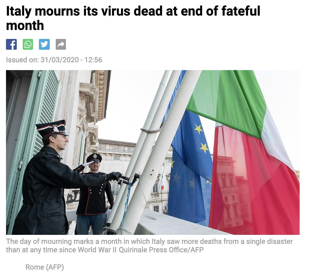 最新!全球85万+,美国超18万,英国或成下一个意大利!全球已进入衰退期