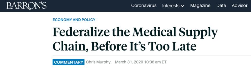 """美国多个州向外求援 媒体:""""白宫要为美国抗疫不力负责"""""""