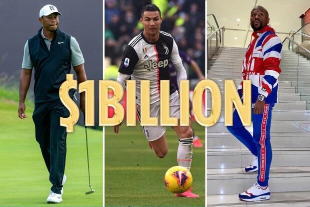 足坛第1!体坛第3!C罗生涯总收入将破10亿