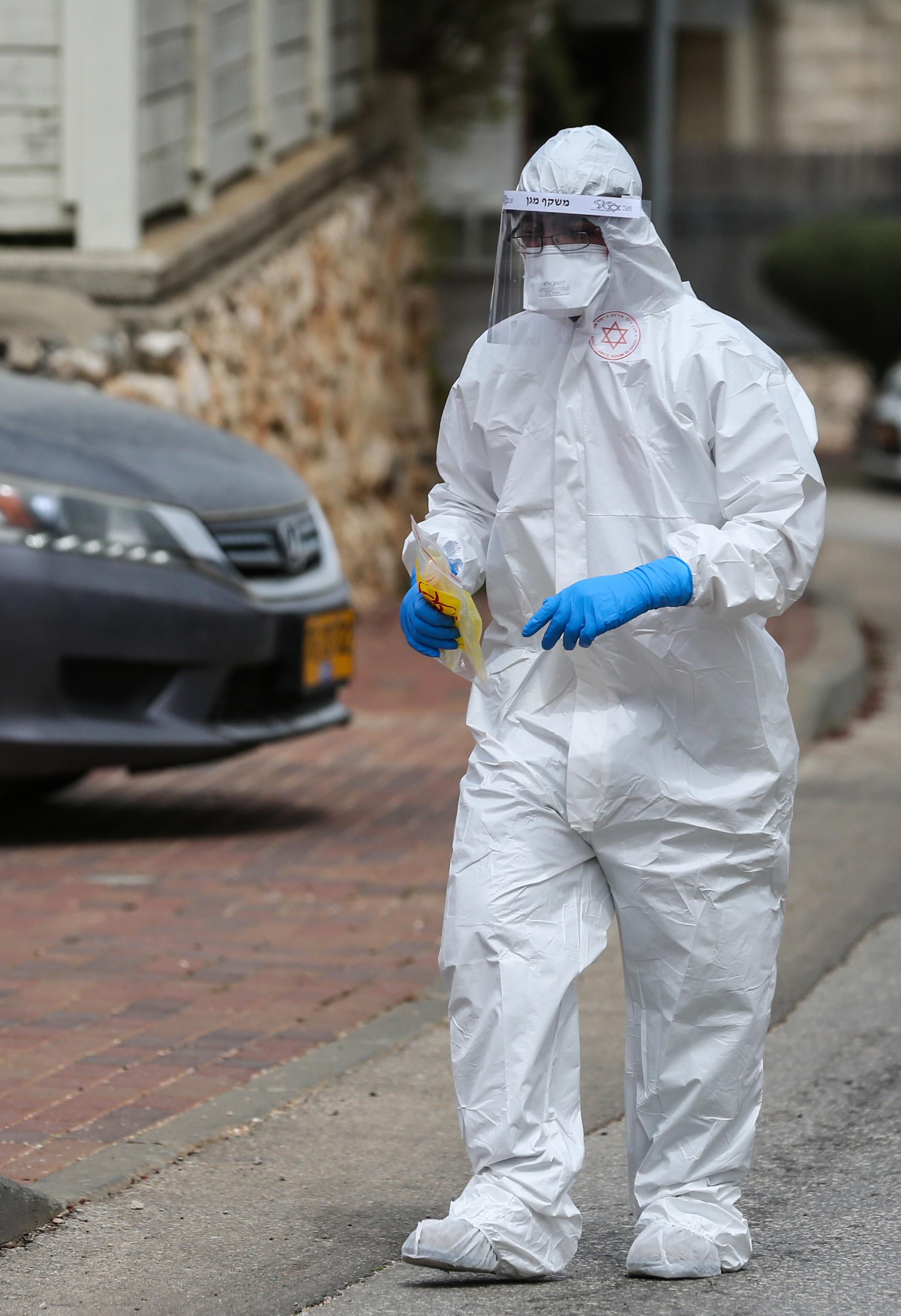 以色列新冠肺炎确诊病例超过五千例