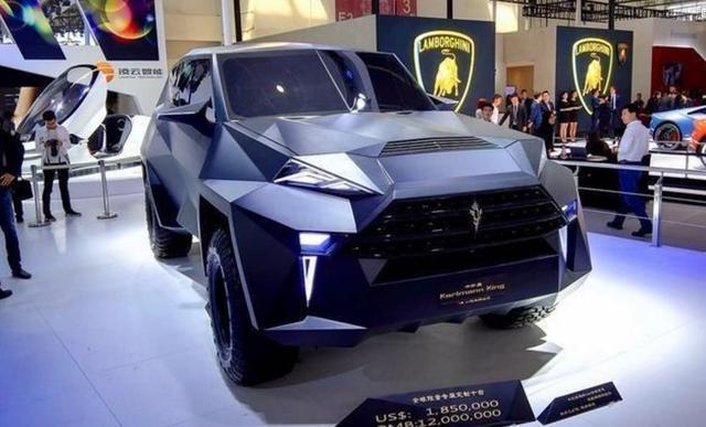 原装国产车惊艳!这车卖几千万,世界上只有10辆,光外观就够吓人的了