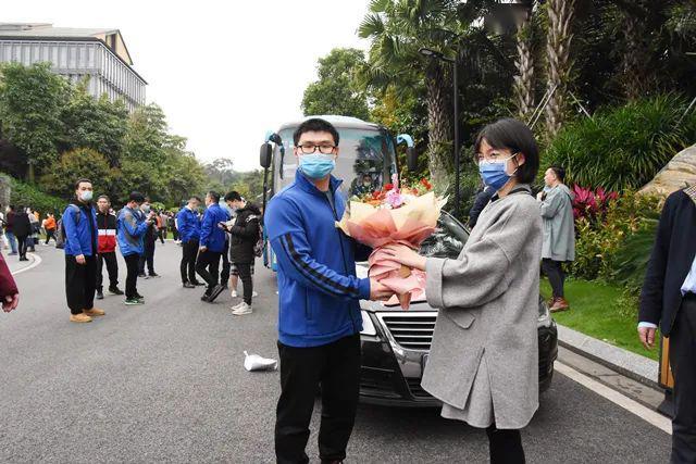 回家啦!广西首批支援湖北抗疫医疗队解除医学隔离,我院医疗队队员正式回归