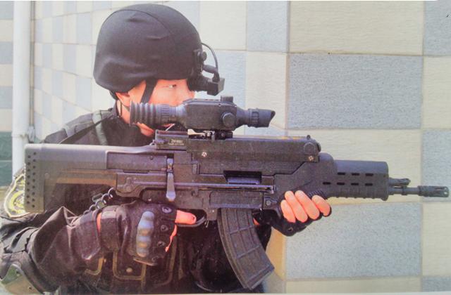 最强单兵作战步枪:第1中国造外观科幻,第2来自法国,像一只鱼_中欧新闻_欧洲中文网